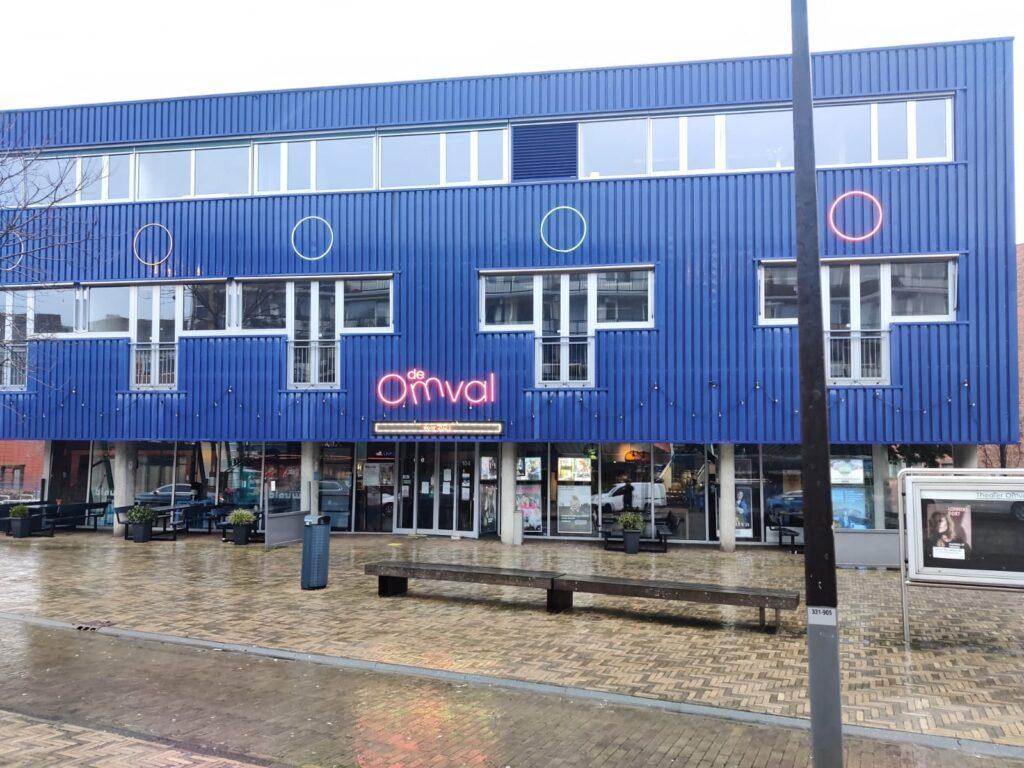 Keuringslocatie theater de Omval